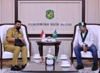 Bobby Ajak HMI Kolaborasi & Dukung Program Prioritas