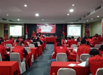 Banteng Makassar Gelar Pendidikan Kader Tingkat Pratama