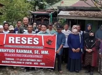 Wahyudi Rahman Turun Serap Aspirasi Masyarakat Petani