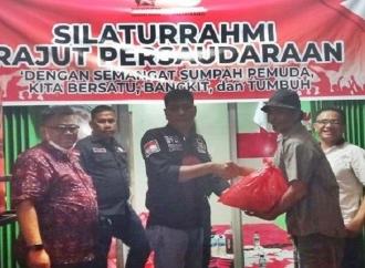 REPDEM Sumsel & PPPJKB Beri Ratusan Sembako ke Kuli Panggul