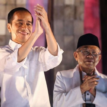 Hasil Survei Semua Lembaga Gambarkan Jokowi-Amin Menang
