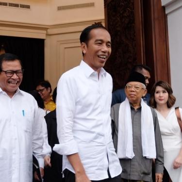 Situng KPU Sementara: Jokowi-Amin Ungguli Prabowo-Sandi