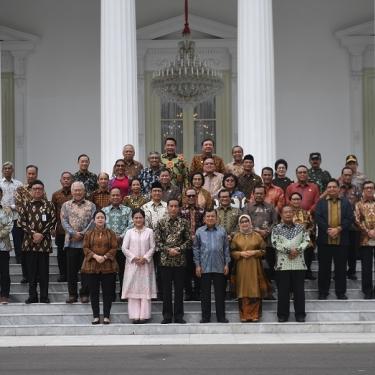 Presiden Jokowi Akui Belum Kenal Menteri Secara Pribadi