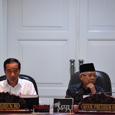 Presiden Jokowi Belum Pikirkan Reshuffle Kabinet