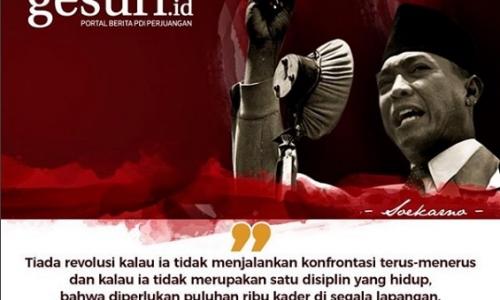 Aturan KPU Larang Foto Bung Karno Harus Digugat