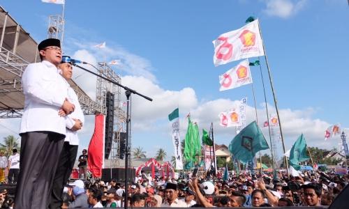 Paket Aman Optimis Menang Telak di Enam Kabupaten/Kota