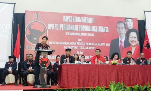 Ketua DPD PDI Perjuangan Sebut Rakerda Solidkan Kader