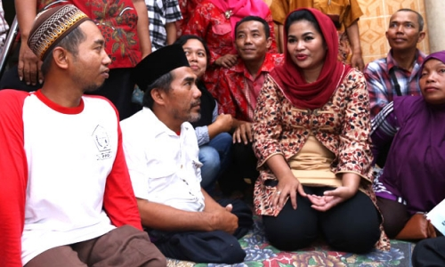 Puti Guntur Soekarno Targetkan Wajib Menang di Blitar