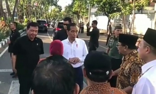 Presiden Jenguk Korban Bom Surabaya