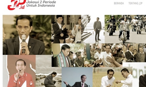 Relawan Pendukung Jokowi-Ma'ruf Amin Buat Website J2P.id