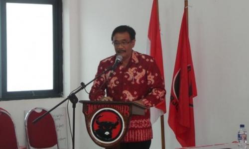 Djarot Optimistis Jokowi-Ma'ruf Raih 65 % Suara di Sumut