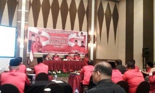 DPD PDI Perjuangan Gelar Rakorda Jelang Pemilu 2019