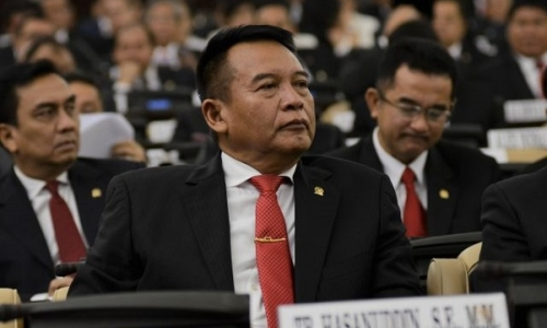 Kasus Penembakan Gedung DPR, Dialami Juga TB Hasanudin
