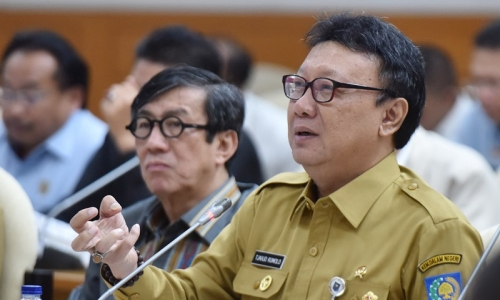 Menteri Tjahjo Kasih Dispensasi Waktu Sahkan APBDP