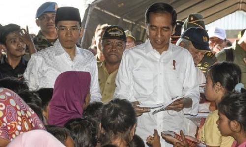 Jokowi Akan ke NTB Pastikan Pencairan Dana Bantuan Gempa