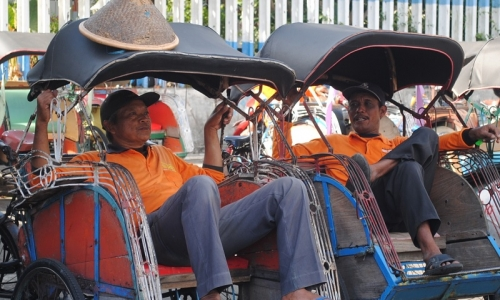 Legislator Catat 80% Penarik Becak Bukan Warga DKI Jakarta