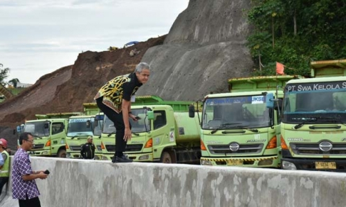 Ganjar: Tol Bawen-Yogyakarta Itu Proyek Strategis Nasional