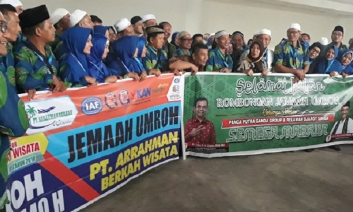 DPC Bamusi Turut Antarkan Relawan DJOSS Berangkat Umroh
