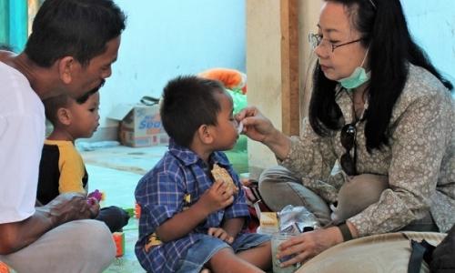 Wenny, Pejuang Kemanusiaan di Lombok yang Humanis