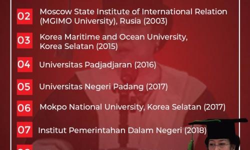 Megawati Soekarnoputri Menerima GelarHonoris Causake-8