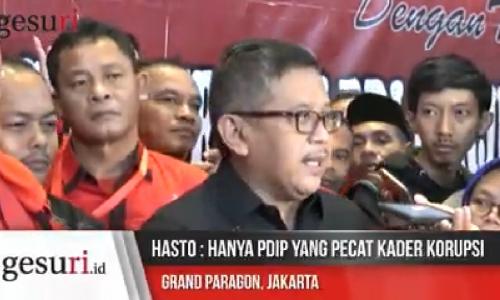 Hanya PDI Perjuangan yang Pecat Kader Korupsi