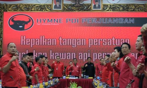 PDI Perjuangan Gelar Rakornas Pemenangan Pileg dan Pilpres