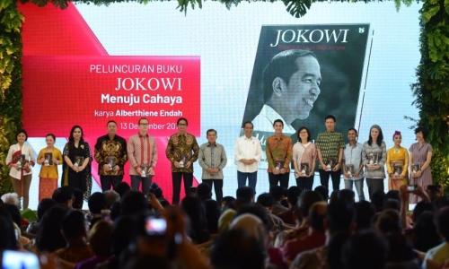 """Buku """"Jokowi Menuju Cahaya"""" Diluncurkan"""