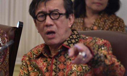 Yasonna Ajak Kader Lawan Hoaks Soal Pemerintahan Jokowi