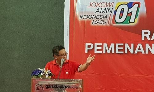 Sekjen Hasto Ajak Kader Medan Komitmen Antikorupsi