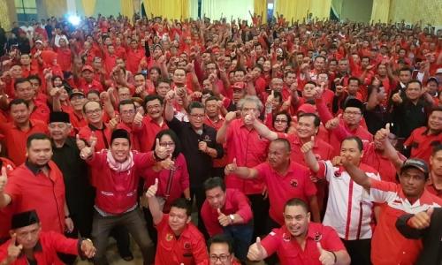 DPC Siantar dan Simalungun Targetkan Jokowi-Ma'ruf Raup 75%