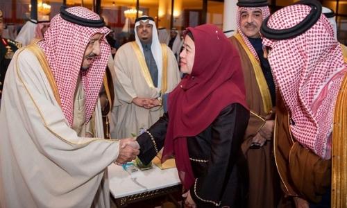 Puan Harumkan Indonesia di Festival Janadriyah Saudi Arabia