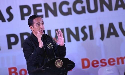Jokowi Minta Jaga Keamanan dan Ketertiban di Tahun Pemilu