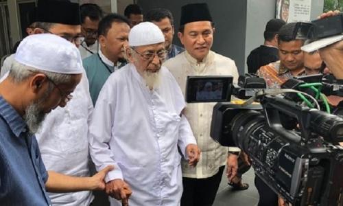 Pembebasan Abu Bakar Ba'asyir Bukan Politis
