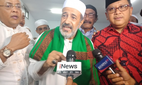 Habaib Bondowoso Siap Menangkan Jokowi-Kiai Maruf Amin