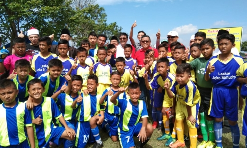 Semangat Ganefo di Turnamen Sepakbola Pasuruan Jatim