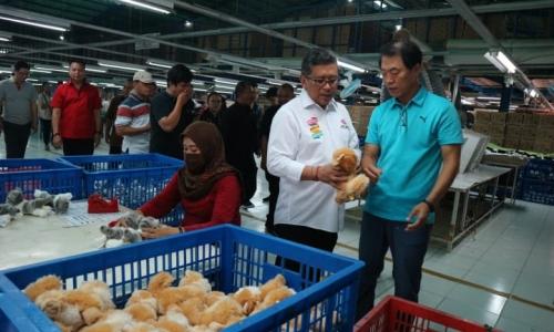 Blusukan ke Pabrik Pembuatan Boneka di Sukabumi