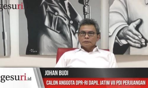 Wawancara Caleg PDI Perjuangan Johan Budi