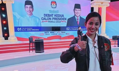 Kirana: Isu Jokowi Gunakan Earphone Itu Fitnah Keji