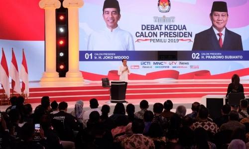Jokowi Serahkan Pada Masyarakat Hasil Debat Kedua