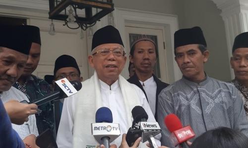 Kiai Ma'ruf: Tak Perlu Ear Piece, Jokowi Sudah Hafal Semua
