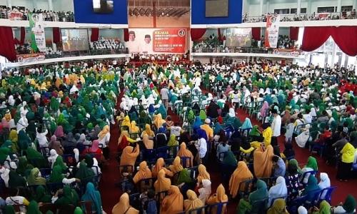 Ribuan Ulama dan Santri Kaltim Deklarasi Dukung Jokowi