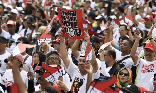 Survei NIRC : Jokowi-Amin Ungguli Prabowo-Sandi