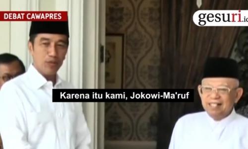 KH Ma'ruf Amin untuk Indonesia Maju