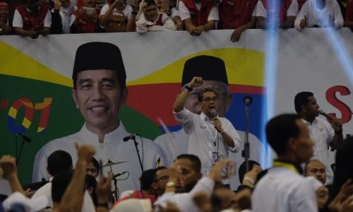 Barisan Caleg Jaktim Siap Menangkan Jokowi