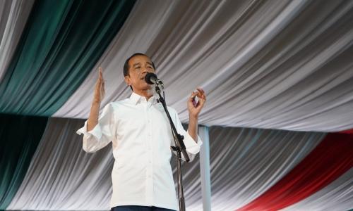 Kemeriahan Kampanye Terbuka Jokowi di Bogor