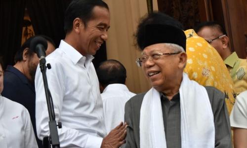 Jokowi-Ma'ruf Unggul Telak di Sukoharjo