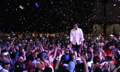 Jokowi dan PDI Perjuangan Teratas di Johor Bahru
