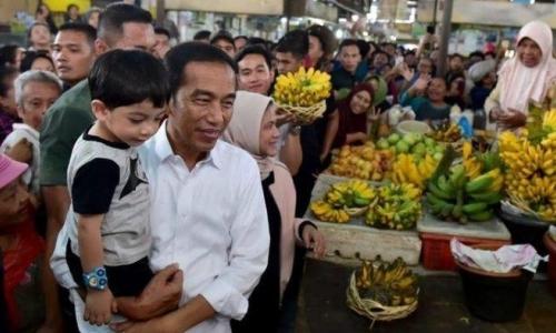 Kunker di Bali, Jokowi Juga Momong Dua Cucu