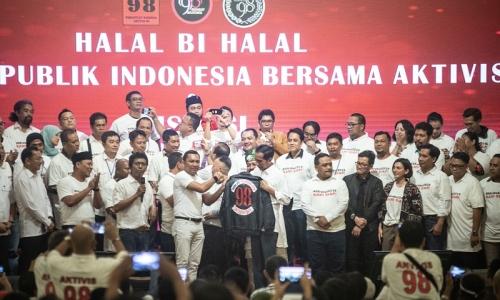 Presiden Jokowi Hadiri Halalbihalal dengan Aktivis 98