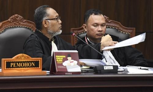 Gugatan Prabowo-Sandiaga Soal Kecurangan TSM Lemah
